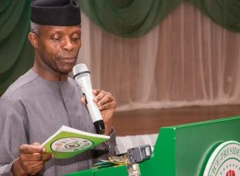 Osinbajo Receives Policy Brief on Housing, Restates FG's Commitment to tackle deficit